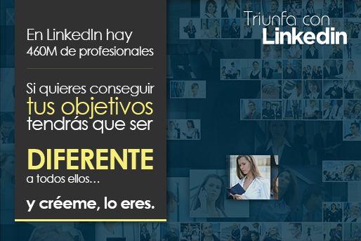 buscar trabajo diferénciate en linkedin