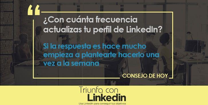 Trucos para LinkedIn: Mantén actualizado tu perfil