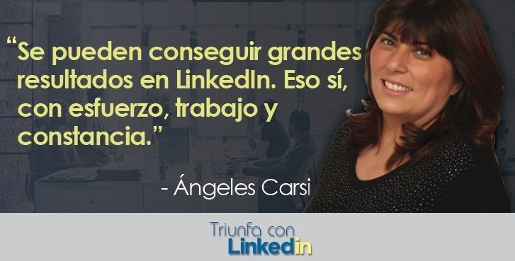 como usar LinkedIn con esfuerzo trabajo constancia