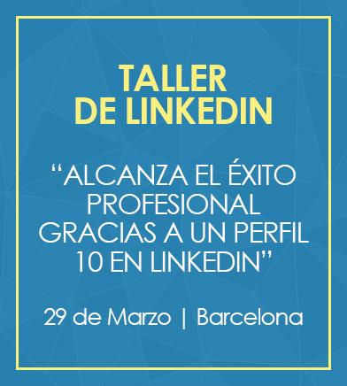 Taller presencial de LinkedIn en Barcelona