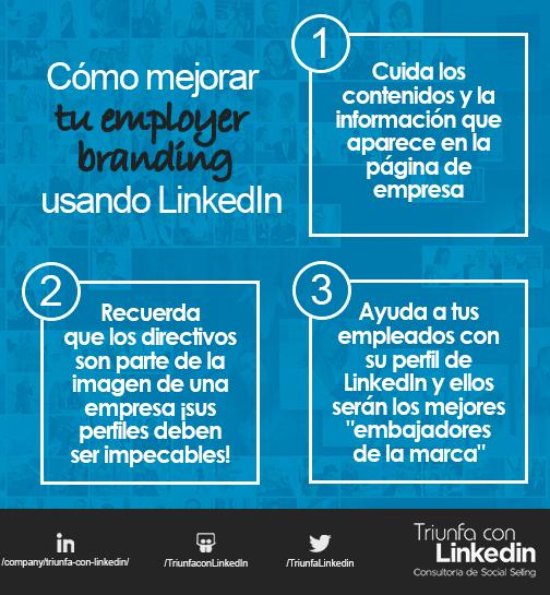 Por qué usar LinkedIn: Mejorar el employer branding