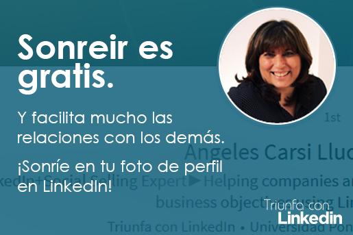 Fotos de LinkedIn: Sonreír es gratis