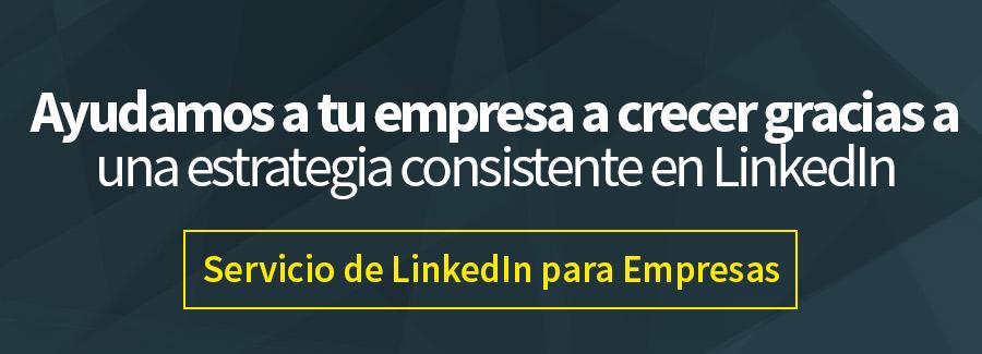 Servicios de LinkedIn para Empresas