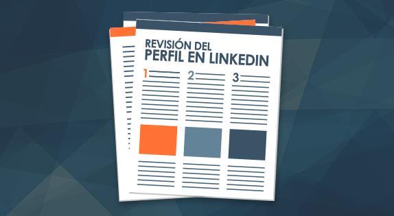 Revisión del perfil en LinkedIn