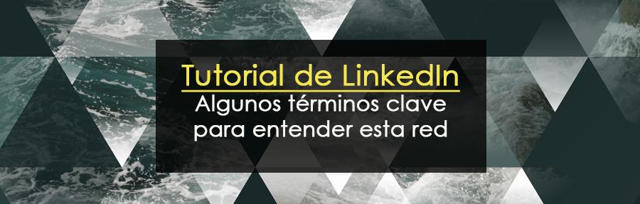 Tutorial de LinkedIn: Algunos términos clave para entender esta red