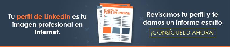 servicio de LinkedIn: revisión del perfil