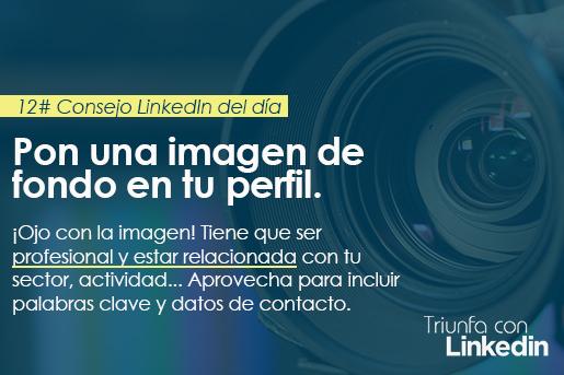 Consejo LinkedIn: Personaliza la imagen de fondo de tu perfil de LinkedIn