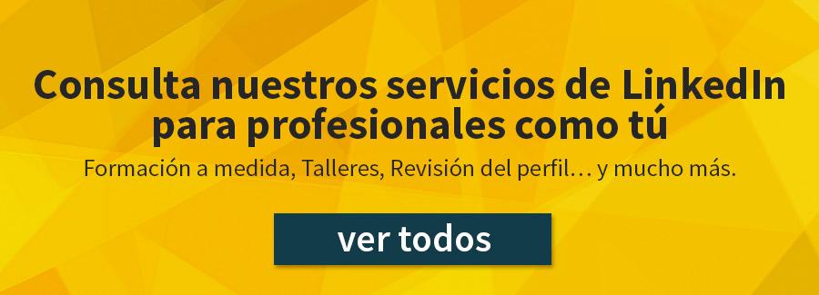 Servicios LinkedIn para profesionales