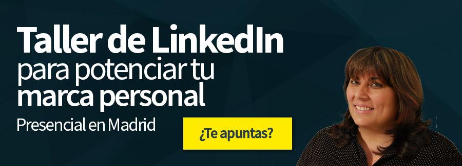 Taller de LinkedIn para mejorar tu marca personal
