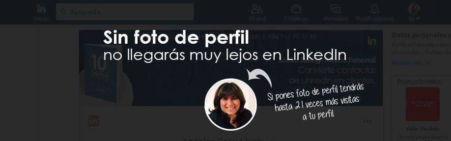 Sin foto de perfil no llegarás muy lejos en LinkedIn: ventajas de tenerla