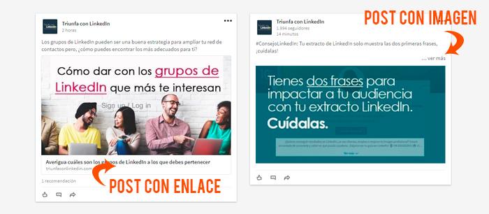 Cómo hacer publicidad en LinkedIn - ejemplo