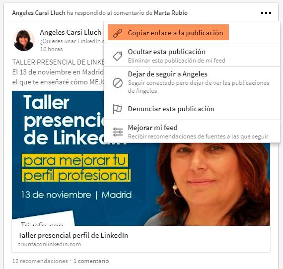 LinkedIn qué es ejemplo