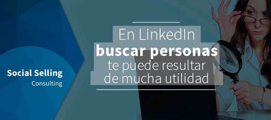 LinkedIn buscar personas te puede resultar de mucha utilidad