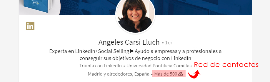 Contactos red de LinkedIn
