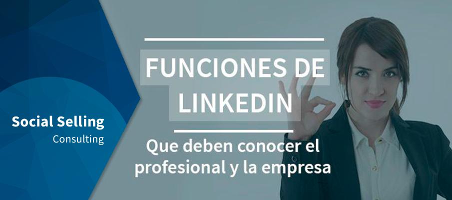 Funciones de LinkedIn