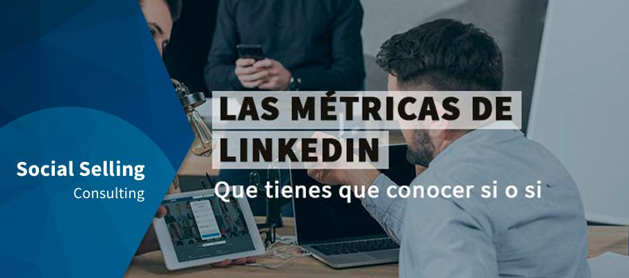 métricas de LinkedIn