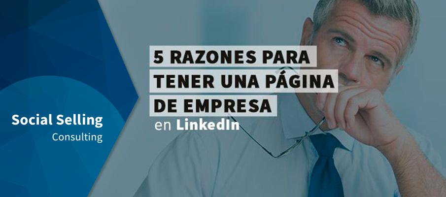 Página de empresa en LinkedIn