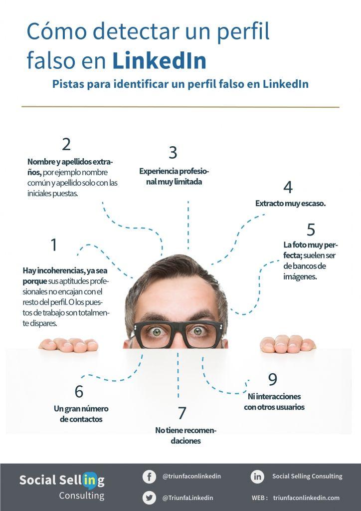 Cómo detectar un perfil falso en LinkedIn