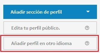 LinkedIn en inglés - Crea tu perfil en otro idioma