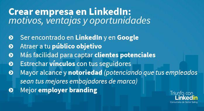 crear empresa linkedin