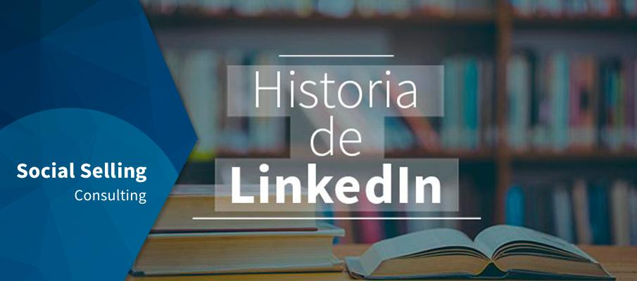 historia de linkedin