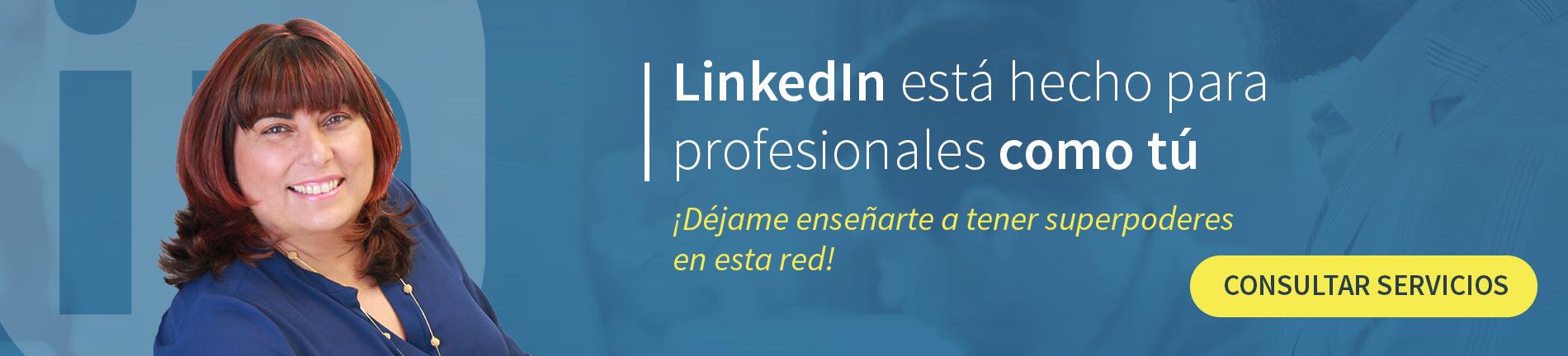 LinkedIn profesionales