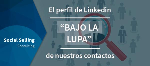 perfil de linkedin contactos