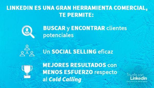 Cold calling y LinkedIn: Infografía