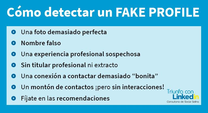 Detectar Fake profile