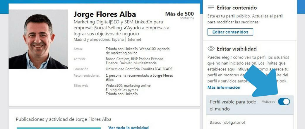 captura buscar trabajo en LinkedIn 3
