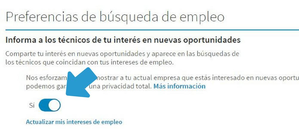Buscar trabajo LinkedIn captura 5