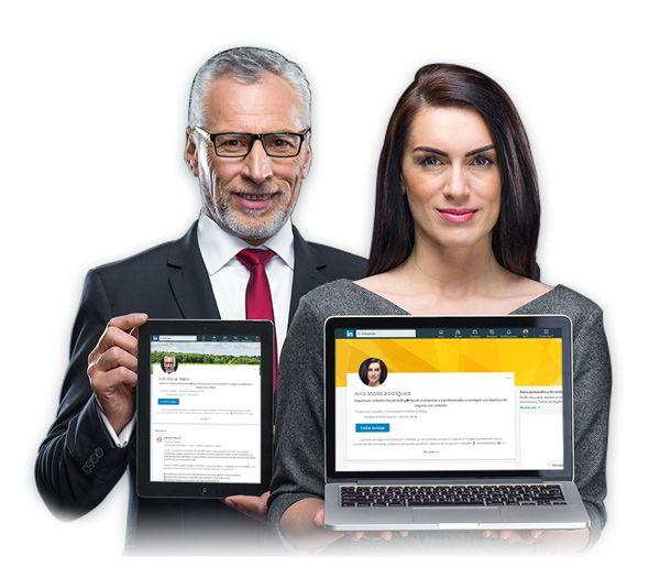 crear perfil linkedin servicio