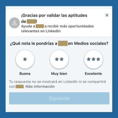 LinkedIn Mobile Skills Stars