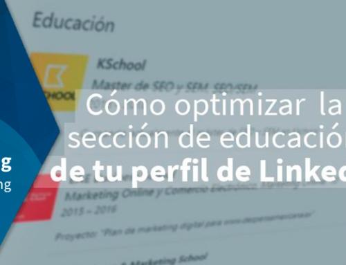 Cómo optimizar la sección de educación de tu perfil de LinkedIn