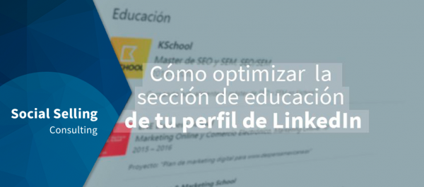 como optimizar la seccion educacion linkedin
