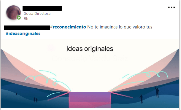 LinkedIn Kudos Idea originales
