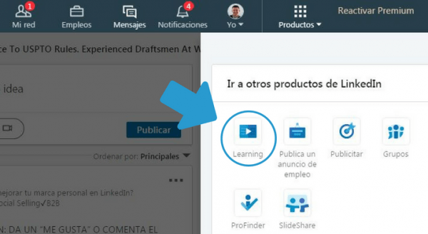Acceso a LinkedIn Learning