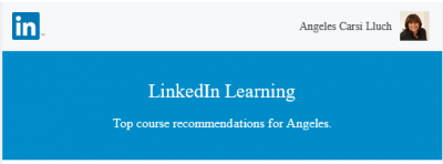 LinkedIn Learning sugerencias de cursos