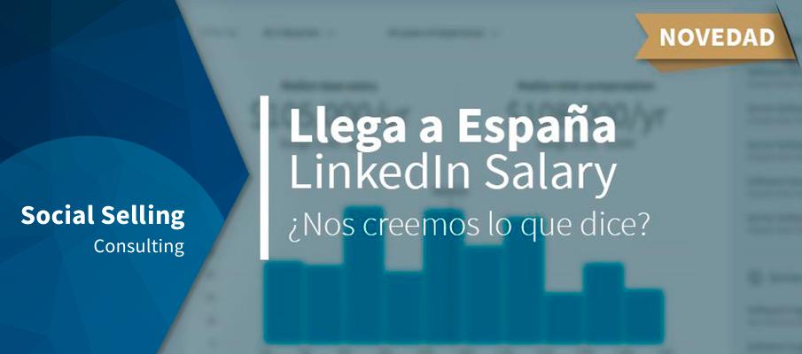 Llega a España LinkedIn Salary