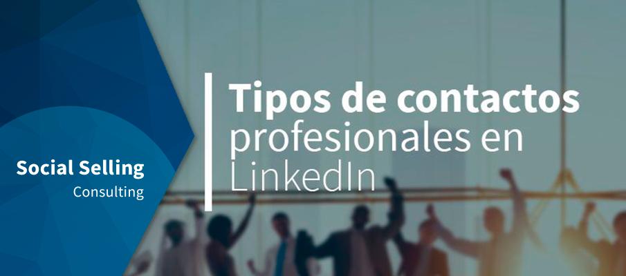 Tipos de contactos profesionales en LinkedIn