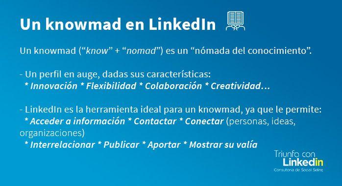 Knowmad en LinkedIn - Infografía