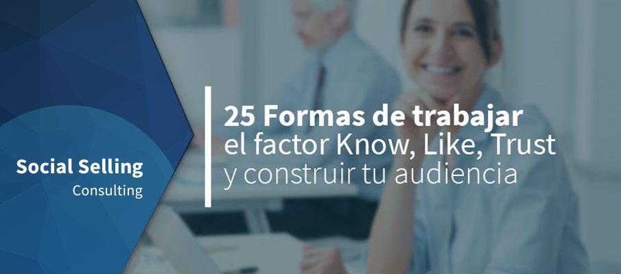 25 formas de trabajar factor KLT