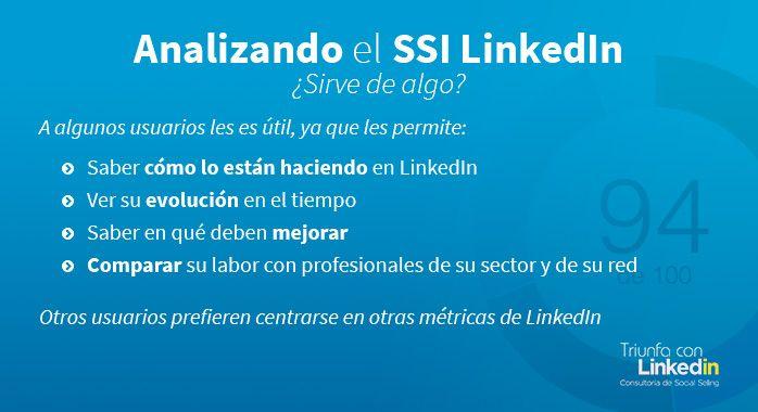 ¿Sirve el LinkedIn Social Selling Index? - Infografía