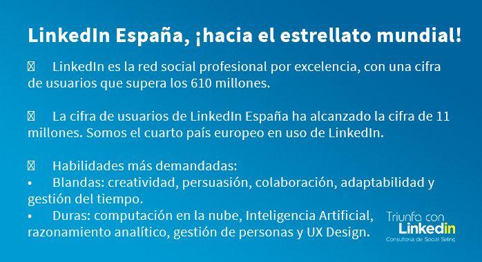 linkedin España: habilidades más demandadas