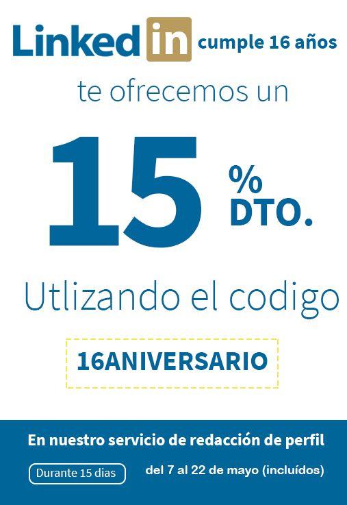 16 aniversario de LinkedIn