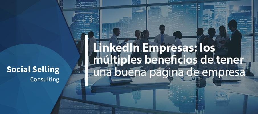 LinkedIn empresas tener una buena pagina