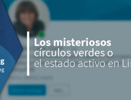 Los misteriosos círculos verdes o el estado activo en LinkedIn