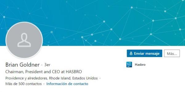 Perfil LinkedIn de Brian Goldner
