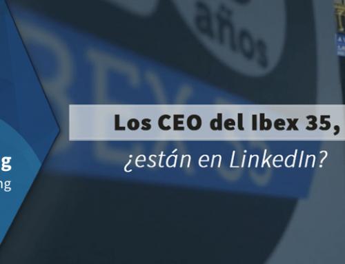Los CEO del Ibex 35, ¿están en LinkedIn?