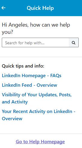 Ayuda LinkedIn